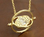 harry potter time turner necklace vintage style necklace golden snitch jewelry christmas gift-n2243 -f89111