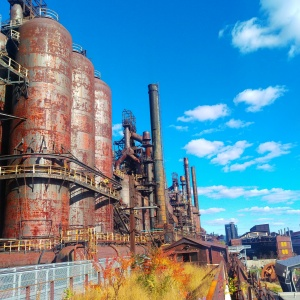 Picture of the Steel Stacks