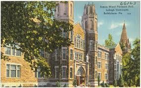 Lehigh Uni Postcard