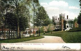 Old Lehigh U Postcard