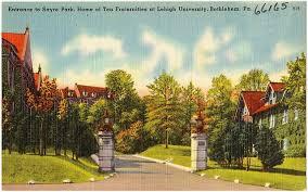 Old University Postcard